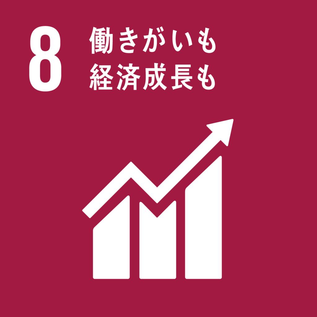 目標8働きがいも経済成長も